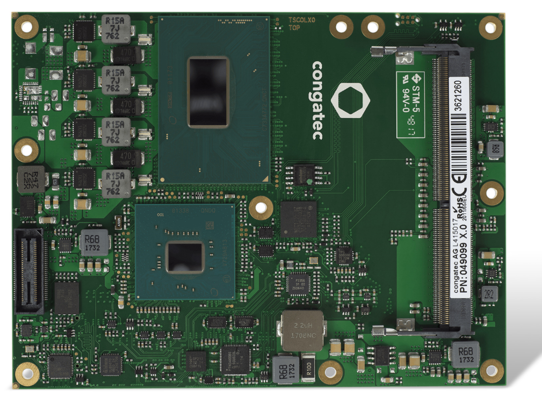 康佳特COM Express 计算机模块 基于最新第八代英特尔