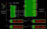 用51单片机做信号发生器,同时输出四种频率的方波