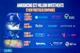 英特爾投資7200萬美元投資12家創新公司,包括3家中國公司