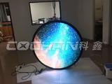 科鑫光电边沿仅4.5cm的高性价比led圆形屏投产