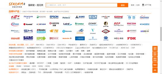世强元件电商全面代理Renesas、Silicon labs、EPSON单片机产品