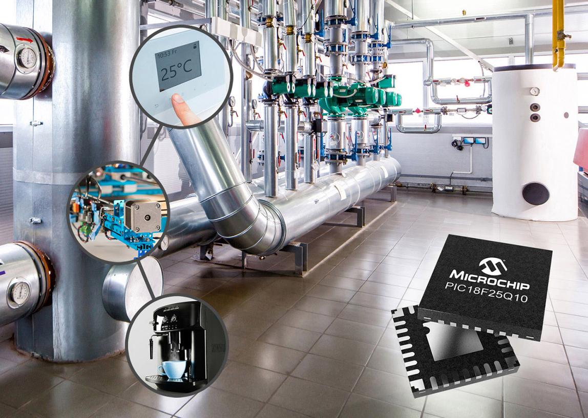 Microchip全新PIC和AVR MCU在闭环控制应用中提高系统性能