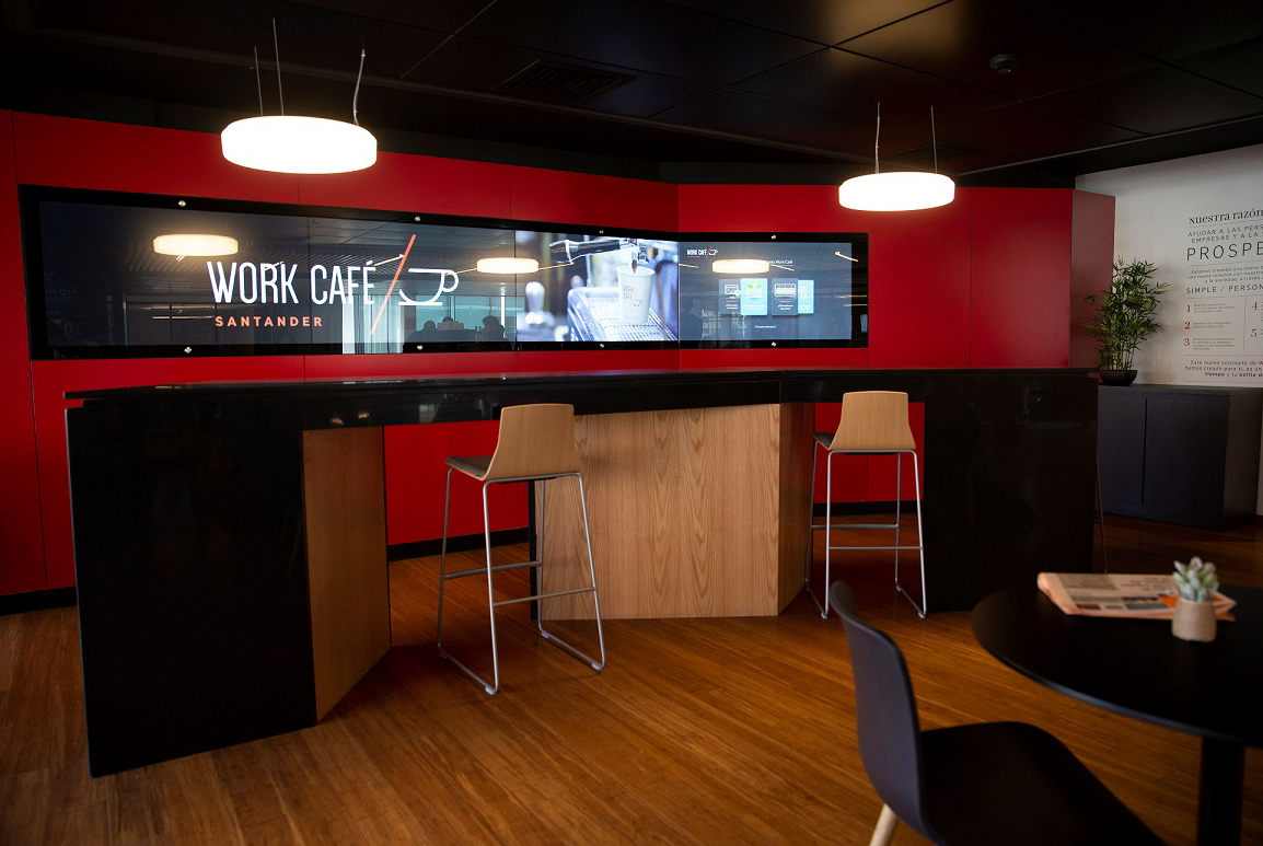 Zytronic触控技术成为Santander银行设计概念的关键因素