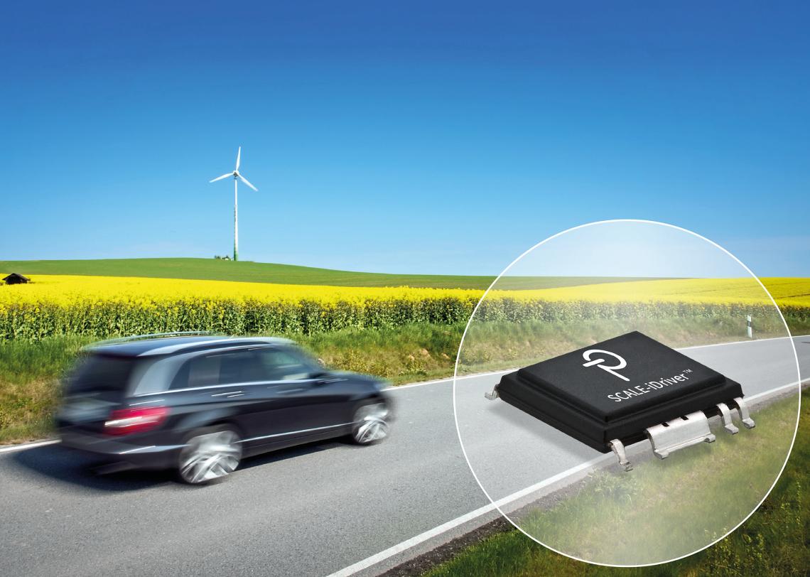 PI现可提供已通过汽车级AEC-Q100认证的SCALE-iDriver IC