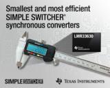 TI推出业界最小封装和最高效率的SIMPLE SWITCHER®同步转换器
