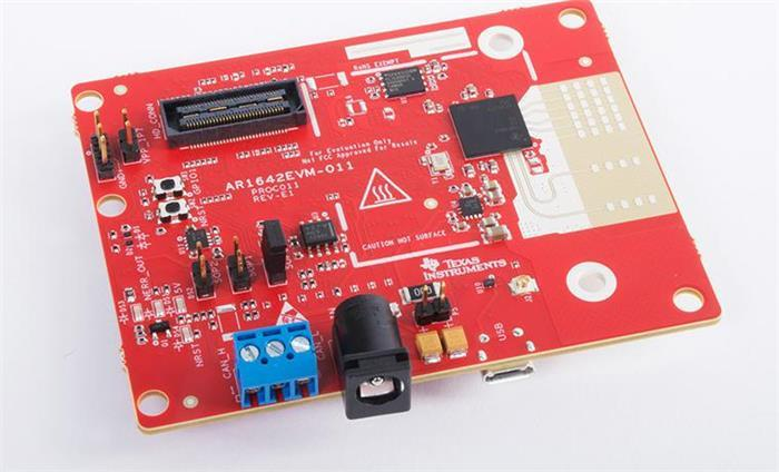 德州仪器公司公布单芯片毫米波雷达的参考设计