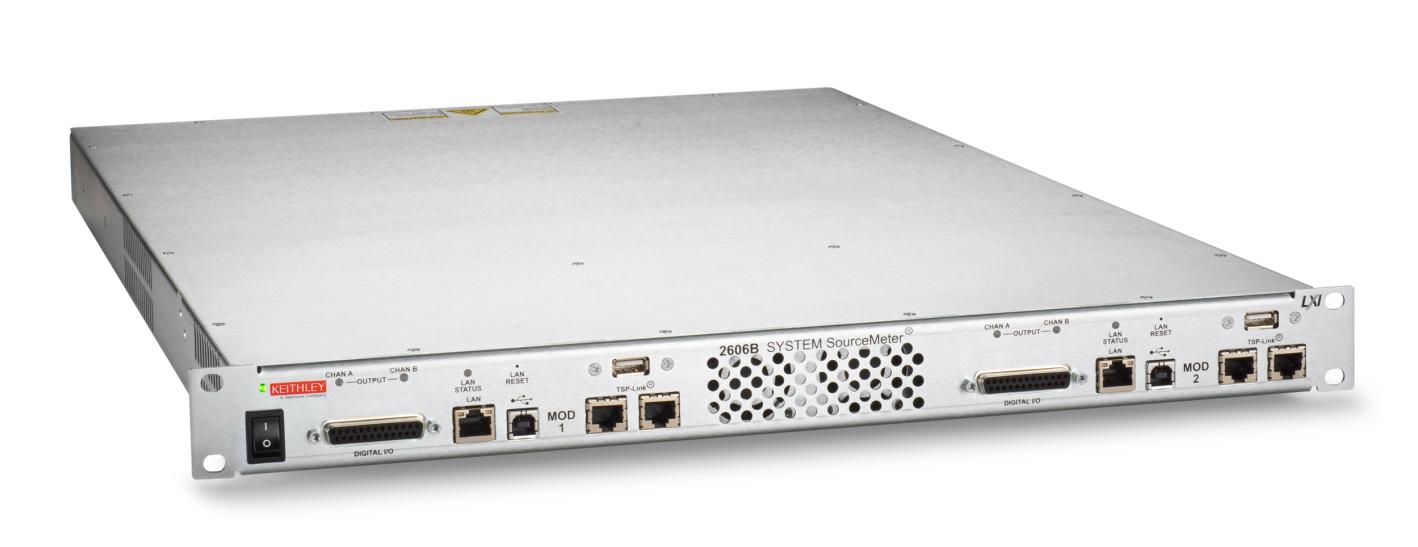 迎接3D传感测试挑战,泰克推出Keithley Model 2606B系统源表SMU