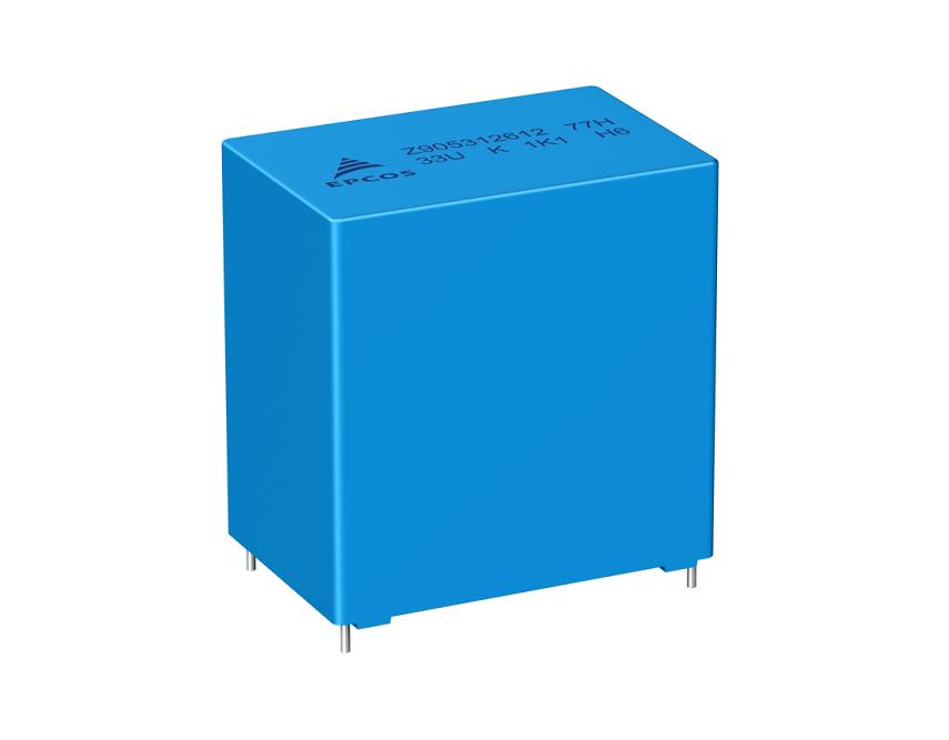 TDK推出坚固耐用的直流链路电容器系列的扩展型号