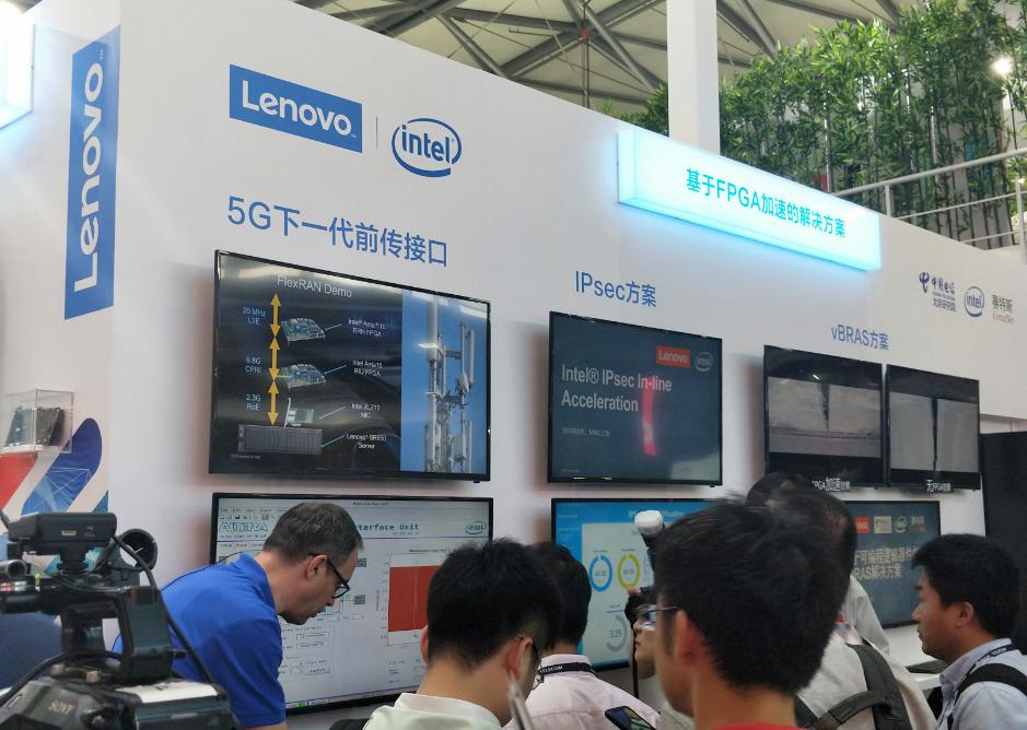 联想、英特尔、赛特斯、中国电信联手展示NFV方案