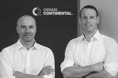 助力汽车智能照明解决方案,OSRAM Continental GmbH公司成立