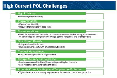 负载点电源(POL)稳压器面临的挑战
