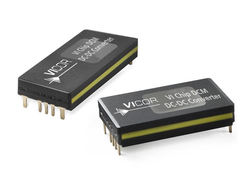 Vicor 发布新款DC-DC 转换器模块