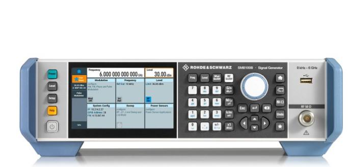 十年磨一剑 R&S射频信号发生器SMB100A升级到SMB100B