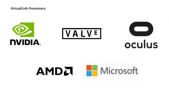 VirtualLink联盟推出统一USB-C VR单线缆连接标准