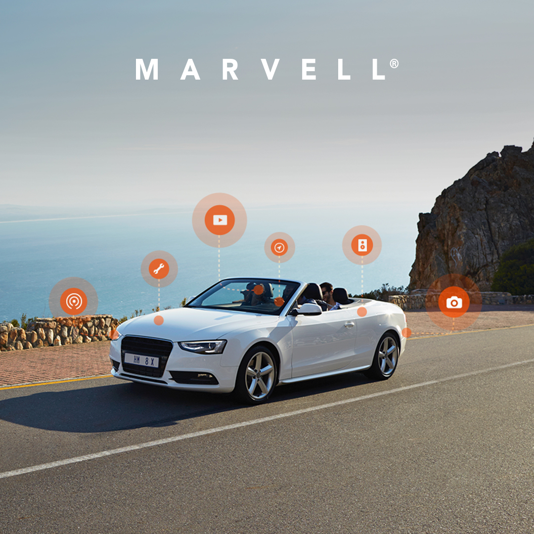 恭喜Marvell汽车千兆以太网技术超越JASPAR设定的运行性能基准