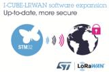 ST推出LoRaWAN 1.0.3软件更新包,更安全更方便
