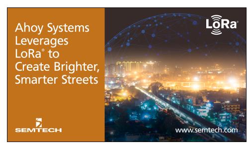 LoRa技术为印度打造智能街道