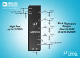 ADI推出 Power by Linear™ ADP5138降压型稳压器