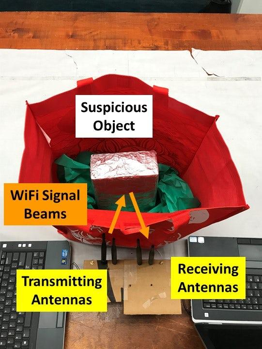 用Wi-Fi信号来探测爆炸物,如何做到的?