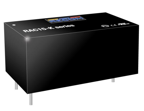 RECOM推出最新15W和20WAC/DC电源