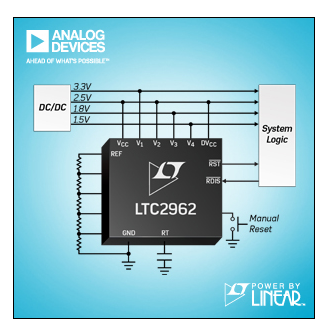 ADI推出 Power by Linear™ LTC2962-LTC2964 系列