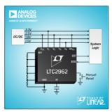 ADI推出 Power by Linear™ LTC2962-LTC2964 系列