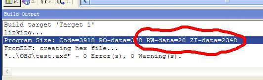 STM32 堆栈大小详解 以及变量存储位置
