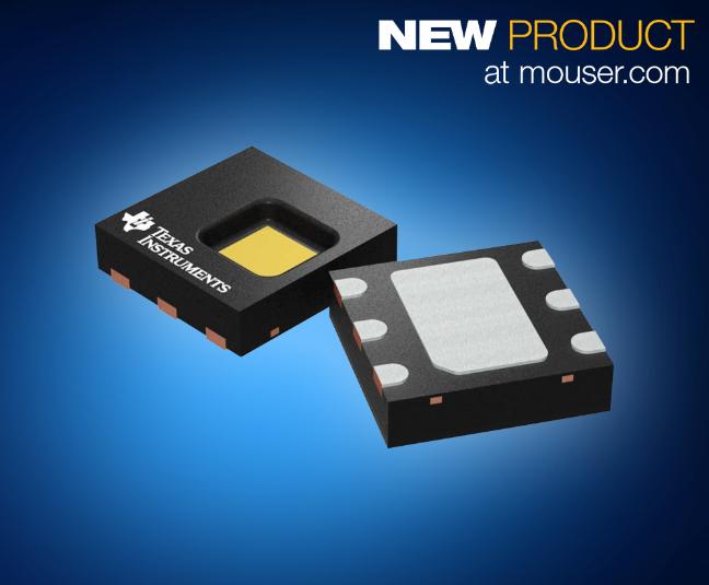 精度更高、功耗更低—TI HDC2080数字温湿传感器