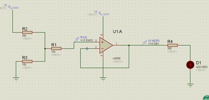 stm32单片机检测12V电路