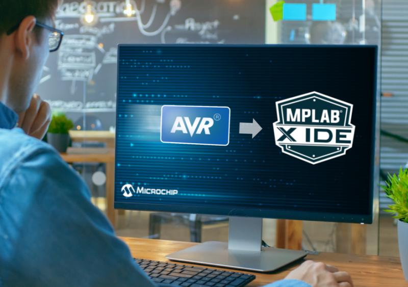 MPLAB X集成开发环境现已支持AVR单片机