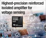 TI推出新款增强型隔离放大器,更加精确可靠