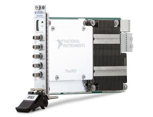 NI推出首款支持直接RF采样的FlexRIO收发器