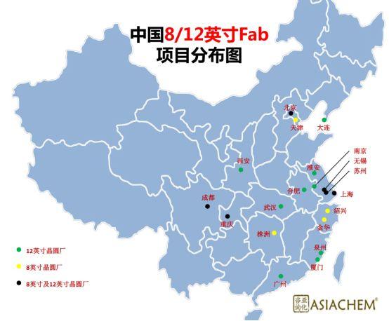 解析:中国FAB厂与大硅片项目的布局规划