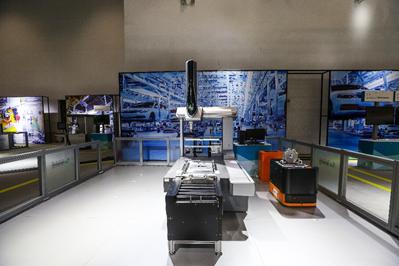 检测新趋势,汽车零部件AGV自动化检测方案
