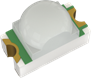 ROHM开发出小型高输出的透镜型LED