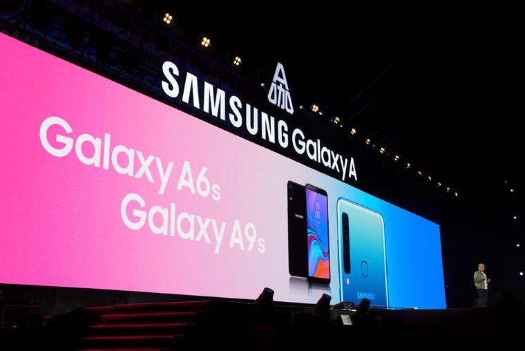 后置四摄像头!三星 Galaxy A9s / A6s 国内正式发布