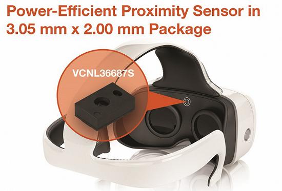 高达20cm感应范围,Vishay 新型超薄全集成接近传感器出炉