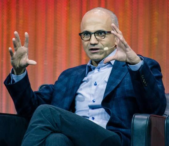 微软 CEO 萨提亚·纳德拉