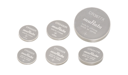 村田扩充适用于物联网设备的硬币型锂电池产品阵容