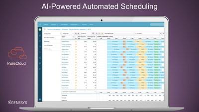 Genesys推出人工智能预测与排班劳动力管理应用