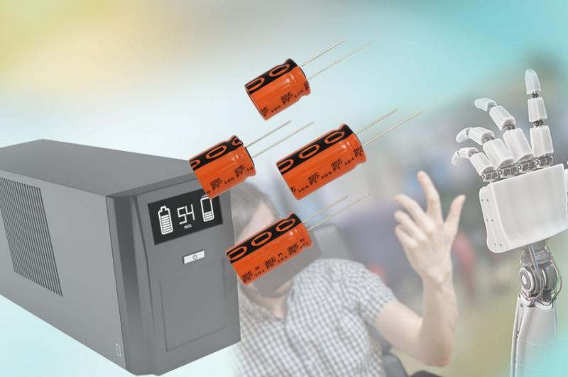 Vishay推出新型高压ENYCAP?电解双层储能电容器
