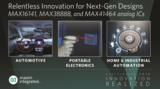 强力助力下一代电子系统,美信推出高性能模拟IC
