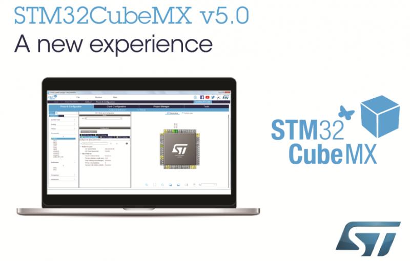 更直观,更高效,意法半导体STM32CubeMX MCU引入多面板GUI
