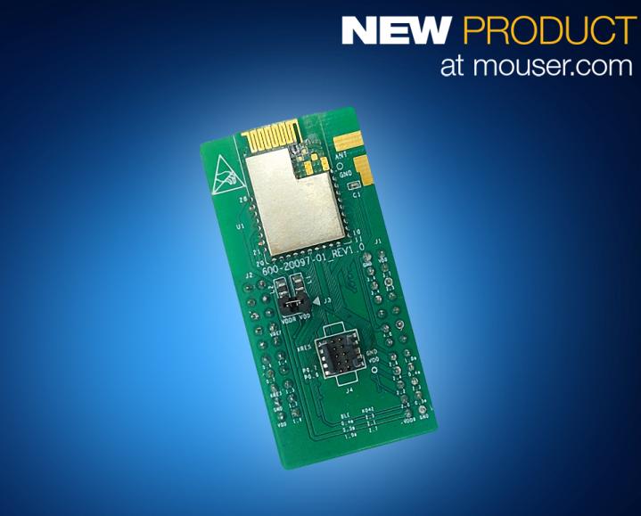 贸泽开售Cypress Semiconductor EZ-BLE和EZ-BT WICED蓝牙模块