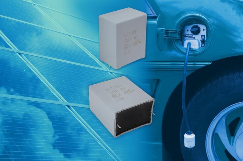 极长的使用寿命,Vishay新款汽车级EMI抑制薄膜电容器