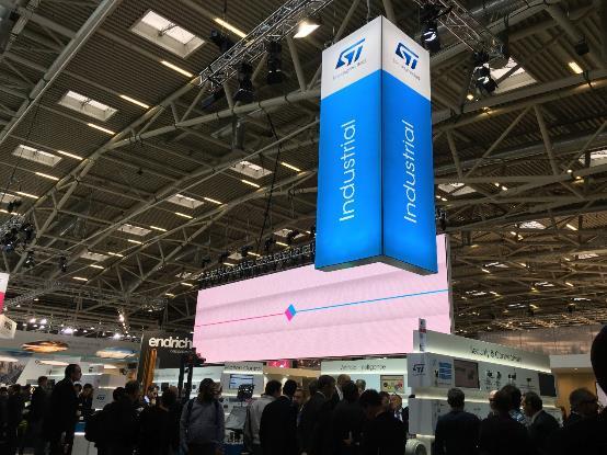 意法半导体亮相德国慕尼黑电子展,赋能工业和汽车智能化