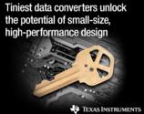 德州仪器推出最小巧的数据转换器具备高集成度与高性能