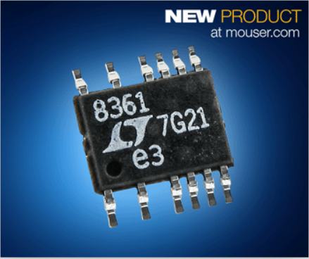 贸泽开售Analog Devices多功能LT8361 DC-DC转换器