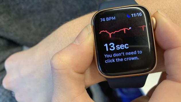 如何使用Apple Watch进行心脏实时监测