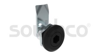 索斯科袖珍型 E5 转舌式门锁狭小空间的理想之选